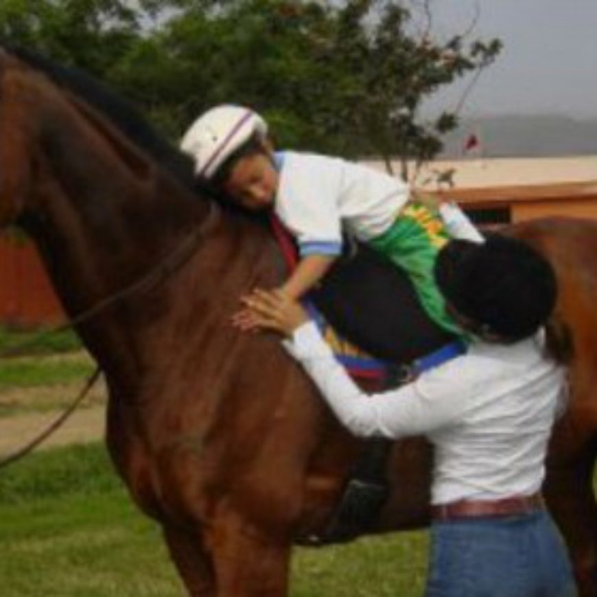 Equitación terapéutica para niños autistas